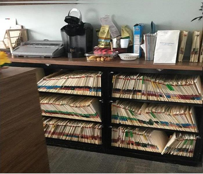Document Drying of Files from Doctor's Office