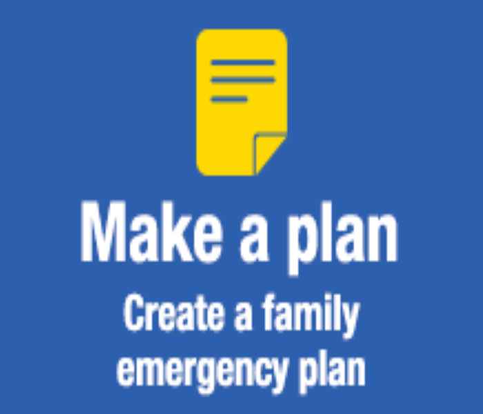General National Preparedness Month: Week Two - Make A Plan