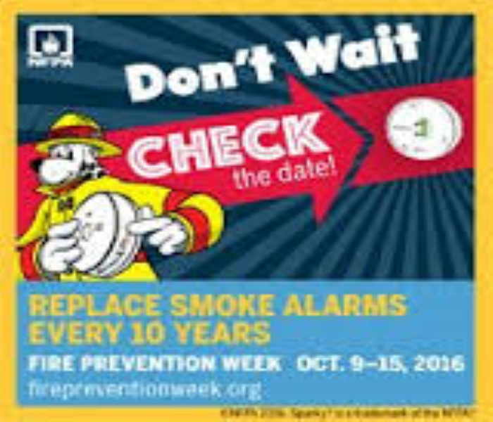 General Don't Wait: Check the Date! Replace Smoke Alarms Every 10 Years!